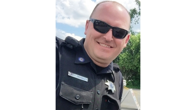 Funeral For Officer Kevin Crossley
