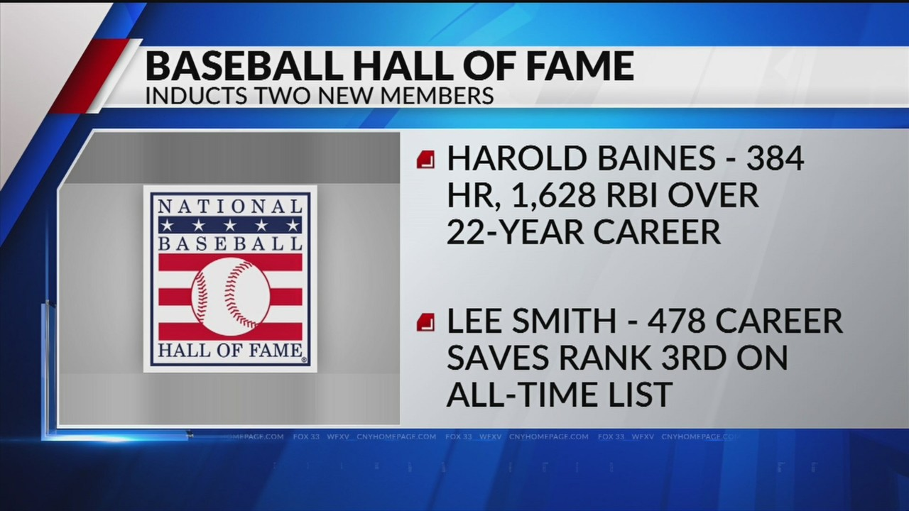 harold baines, lee smith voted into baseball hall of fame
