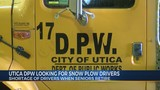 Utica DPW Is Looking For Snow Plow Drivers