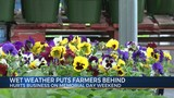 Wet Weather Puts Farmers Behind